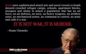 chomsky palestine